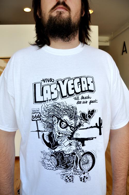 Viva las vegas t shirt panhandle print for Las vegas shirt printing
